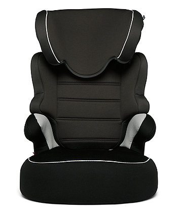 Mothercare Milan Highback Booster Car Seat - Black