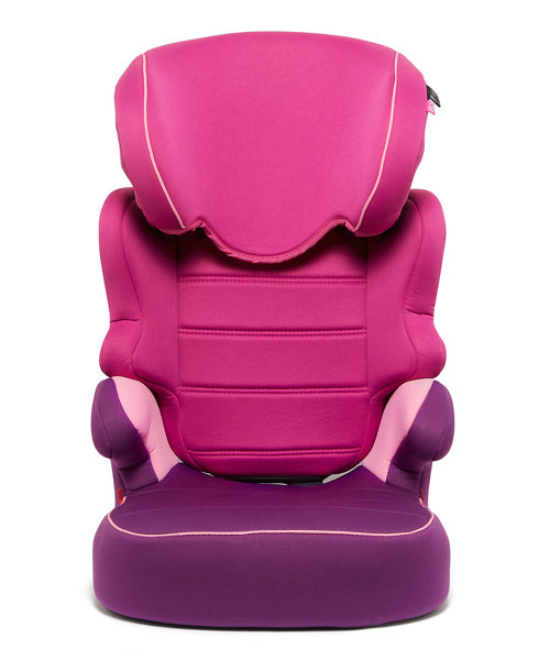 Mothercare Milan Highback Booster Car Seat - Pink