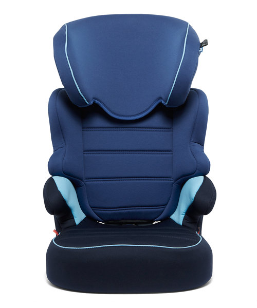 Mothercare Milan Highback Booster Car Seat - Blue