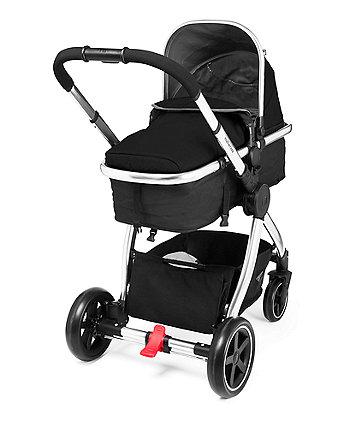Mothercare Journey Chrome Travel System - Black