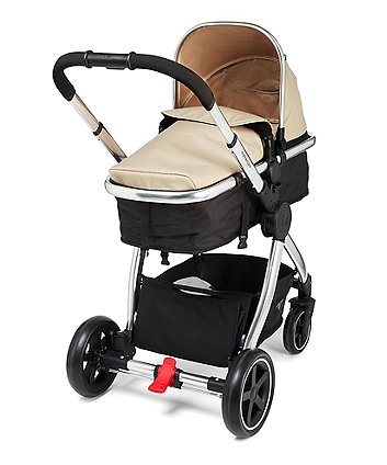 Mothercare Journey Chrome Travel System - Sand