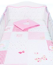 Mothercare Daisy Chain Bedding Set - Pink