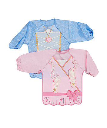 Mothercare Dress Up Coverall Bibs - 2 Pack