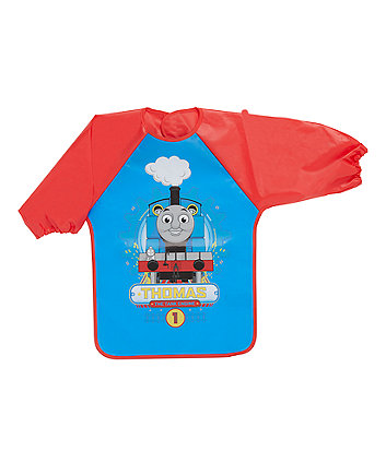 Thomas The Tank Peva Coverall Bib - Red