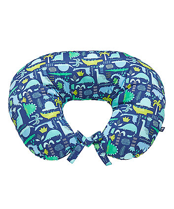 Mothercare Dinosaur Printed Feeding Pillow