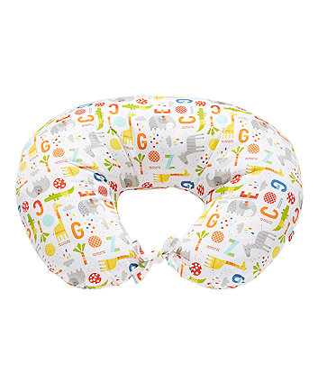 Mothercare Hello Friend Printed Feeding Pillow - Safari ABC