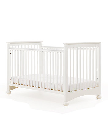 Mothercare Charleston Cot Bed (Off White) + Free Mattress