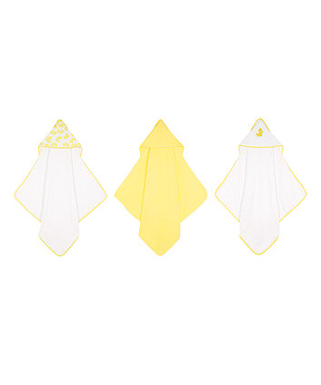 Mothercare Duck Cuddle N Dry - Yellow 3 Pack
