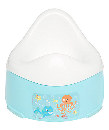 Mothercare Potty - Turquoise