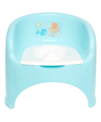 Mothercare Potty Chair - Turquoise