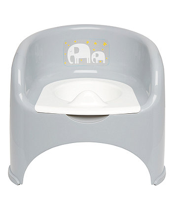 Mothercare Potty Chair - Grey