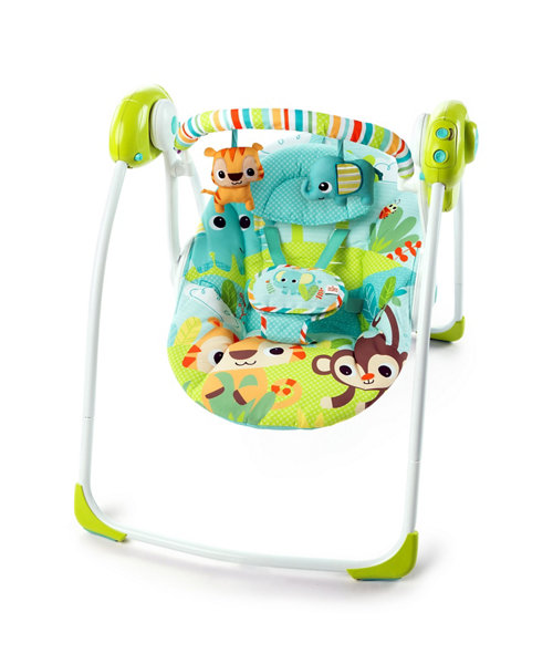 Bright Starts Smiling Safari Portable Swing