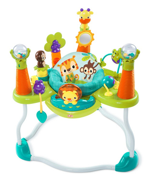 Bright Starts Smiling Safari Activity Jumper