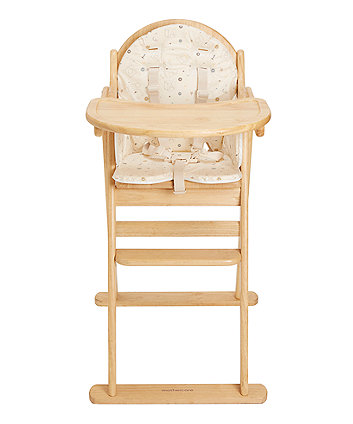84dde8959cf Mothercare Teddy S Toy Box Highchair Cushion