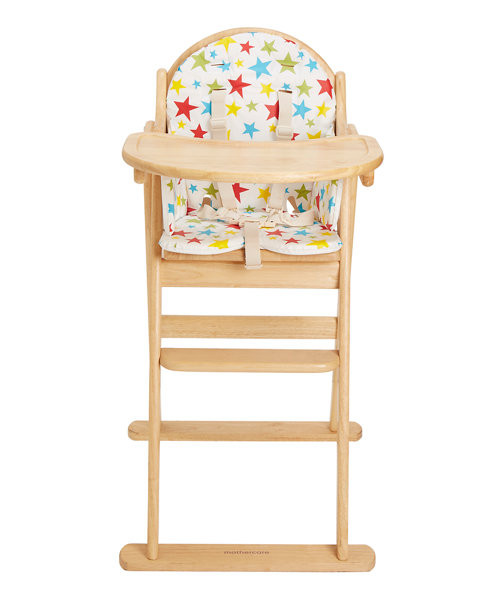 Mothercare Multi Star Highchair Cushion