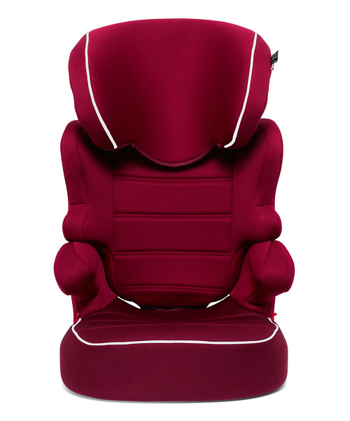 Mothercare Milan Highback Booster Car Seat - Red