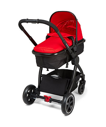 Journey Black Travel System - Red