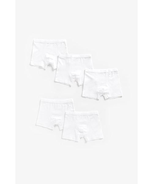 White Trunks - 5 Pack
