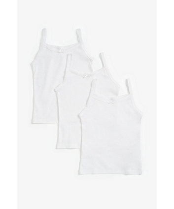 White Vests - 3 Pack