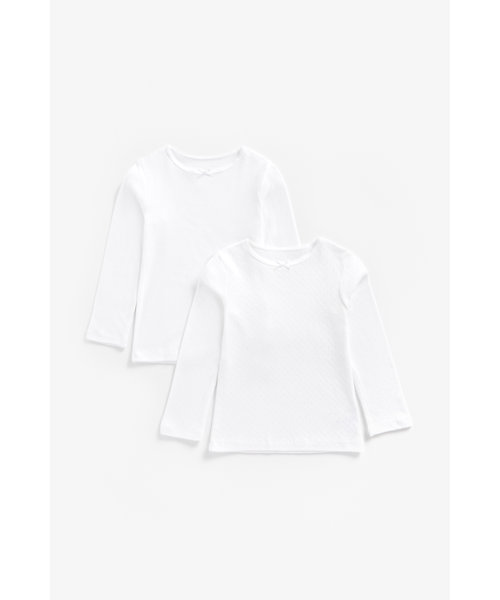 White Vests - 2 Pack