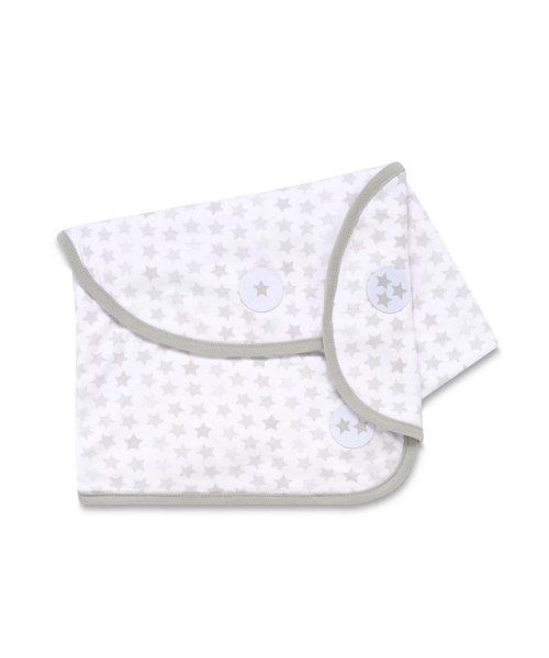 Mothercare Swaddling Blanket - Grey