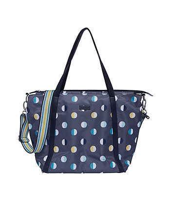 Mothercare Tulip Tote Changing Bag - Pewter Eclipse