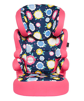 Mothercare Milan High Back Booster Car Seat - Flowers