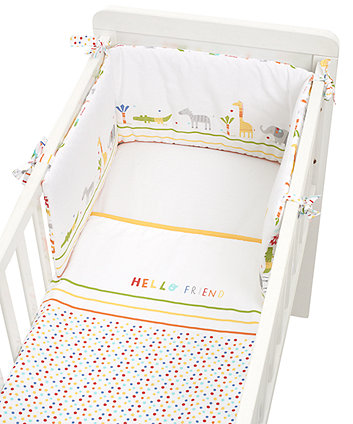 Mothercare Hello Friend Crib Bale