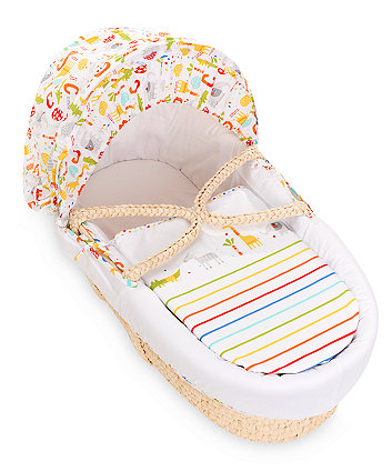 * Mothercare Hello Friend Moses Basket