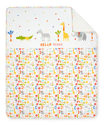 Mothercare Hello Friend Coverlet