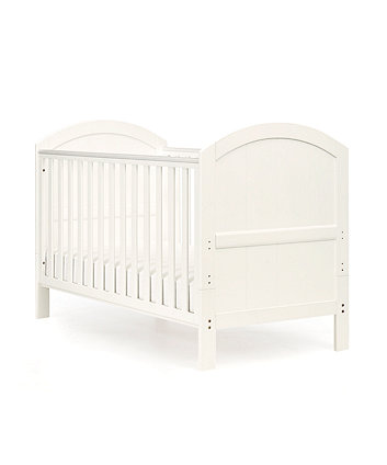 Mothercare Marlow Cot Bed (White) + Free Mattress