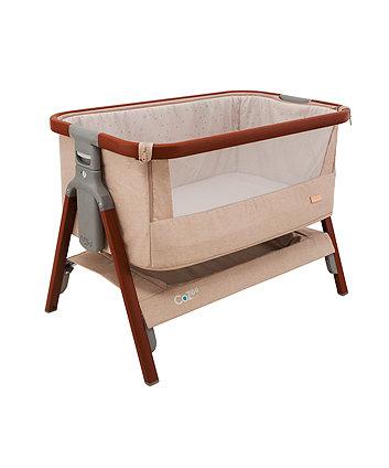 Tutti Bambini CoZee bedside crib - putty