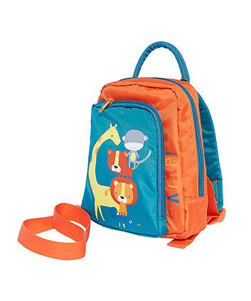 Mothercare Backpack Harness - Safari