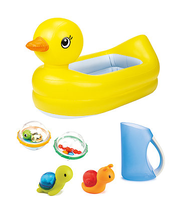 Mothercare Munchkin Splish And Splash Bath Set