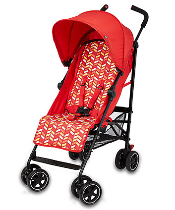 mothercare nanu stroller - red chevron