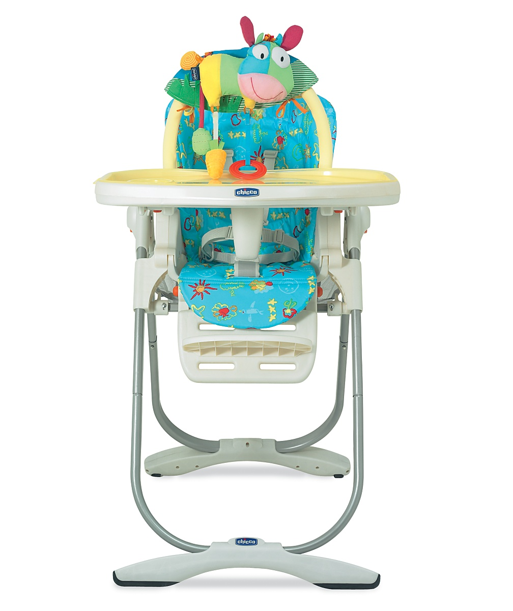 Polly Magic highchair baby sketching