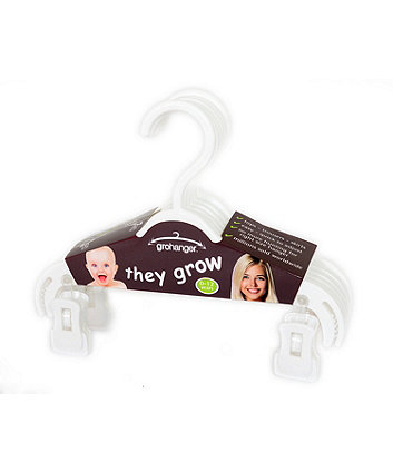 Mothercare Gro-Hangers - 6 pack