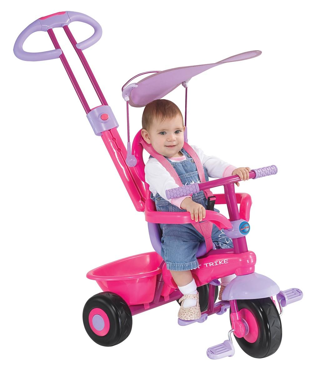 Smart trike plus  pink