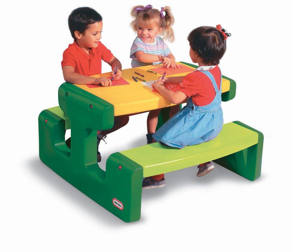 Little Tikes large picnic table