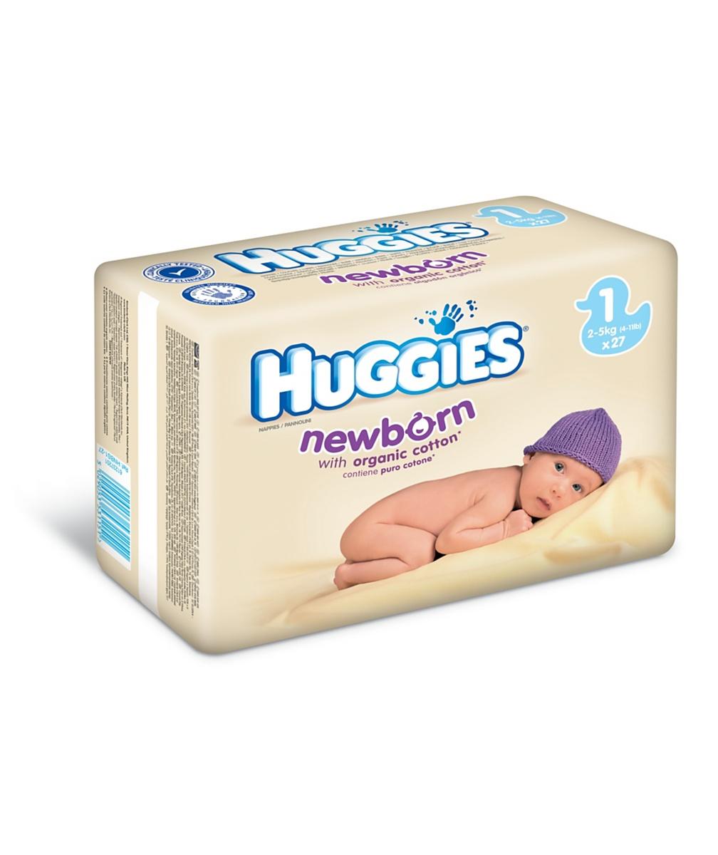 Huggies&reg Newborn nappies Size 1  27pk