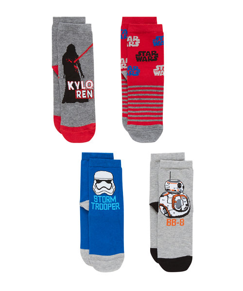 Star Wars Socks with Aegis - 4 Pack