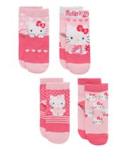 Hello Kitty Socks with Aegis - 4 Pack