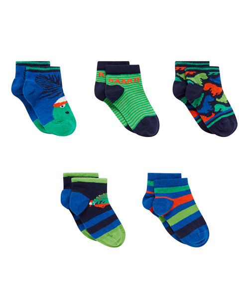 Dino Trainer Socks with Aegis - 5 Pack