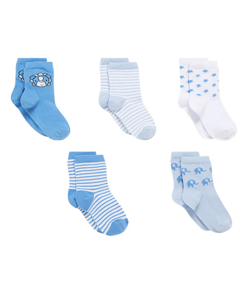 Little Lion Socks - 5 Pack