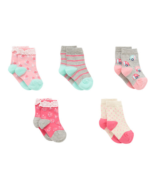 Campervan Socks - 5 Pack