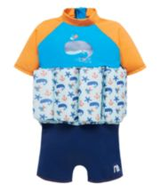 Mothercare Swimsafe Float Suits Blue 2-3 Years