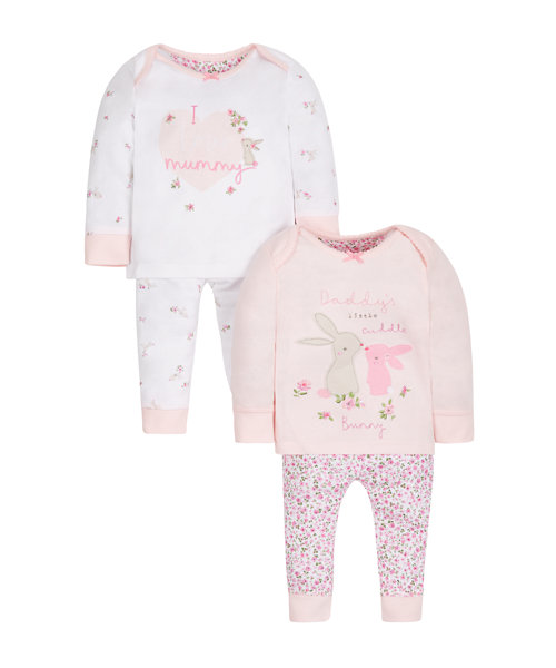 Mummy and Daddy Pyjamas - 2 Pack