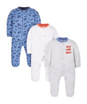 Music Sleepsuits - 3 Pack