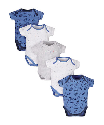 Music Bodysuits - 5 Pack