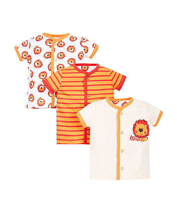 Little Lion Tops - 3 Pack